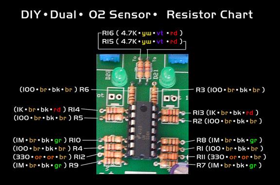 Diy Dual Oxygen Sensor Fuel Saver Circuit Efierhhydrogengarage: O2 Sensor Simulator Schematic At Gmaili.net