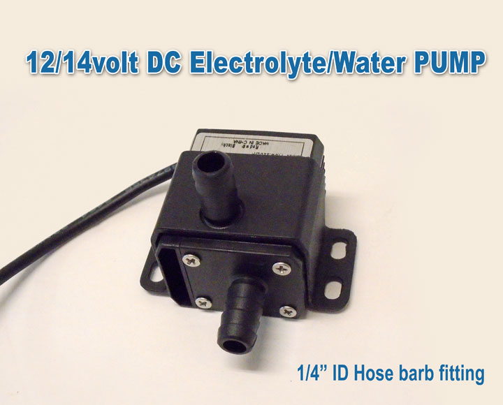 12/14 Volt DC Water/Electrolyte Pump