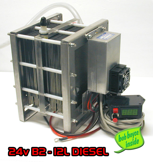 24 Volt/12Volt B2 • HHO Trucker Cell Kit