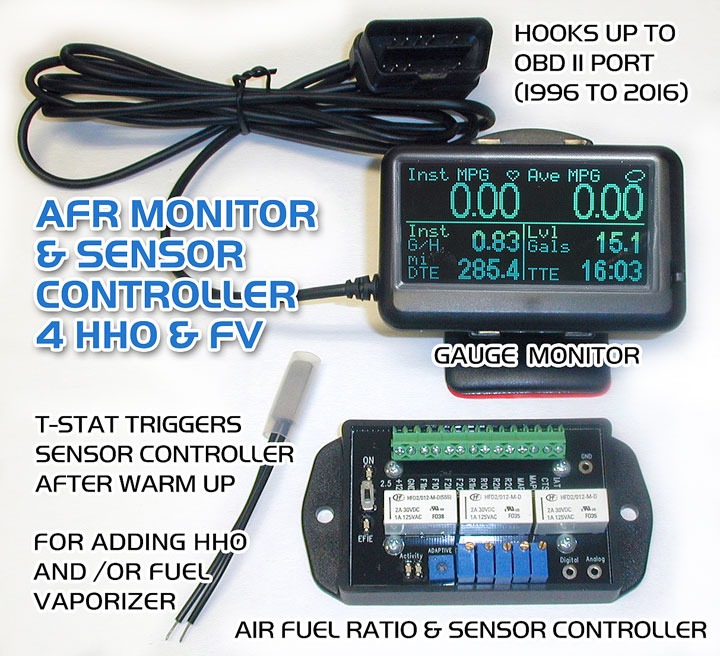 AFR Controller and Monitor