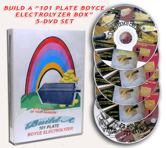 Build a BOYCE 101 plate Box : 5 DVD SET