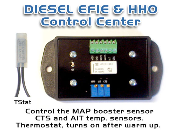 DIESEL EFIE & HHO Control Center