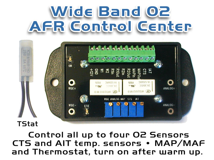 Wide Band AFR Control Center