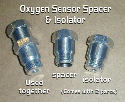 Oxygen Sensor Spacers & Isolators